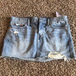 Size 27 Levi Jean Skirt